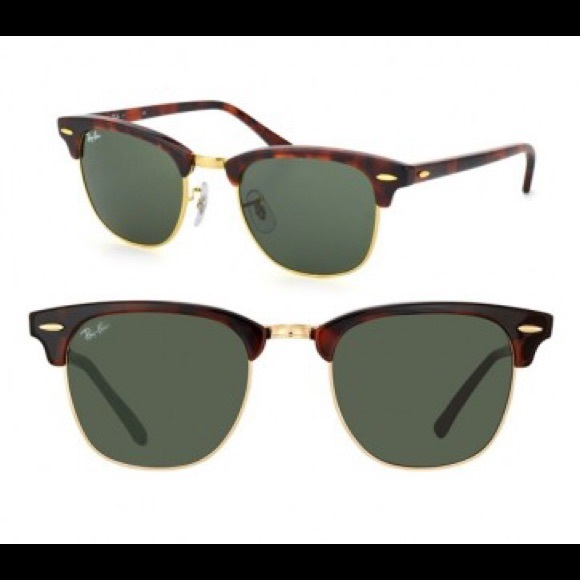 130ed7c5b655 Ray-Ban Accessories - Ray-Ban Tortoise Shell CLUBMASTER Sunglasses